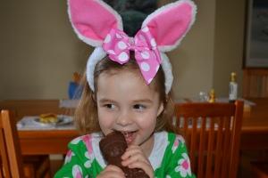 Mmmm, chocolate bunnies!