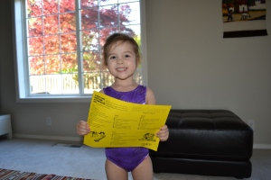 My first gymnastics report.