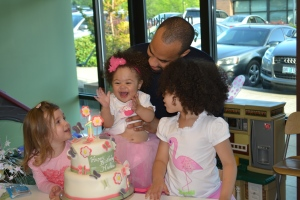 Happy First Birthday Nadia.  We had a great time, thanks for inviting us.