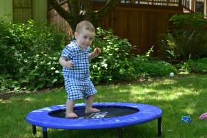 A trampoline.