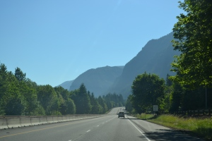 We picked a beautiful day for a drive to the Gorge.