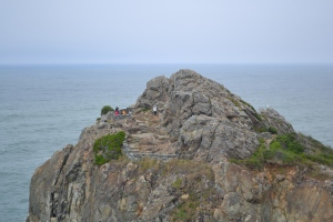 8 hike wedding rock from Patricks Point