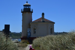 V lighthouse close up