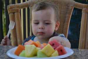 But there were a few things that we wanted to remember on the blog.  Like the fresh fruit breakfasts.