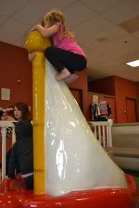 Became pirates at Munchkin Play Land of course.  I climbed the mast.