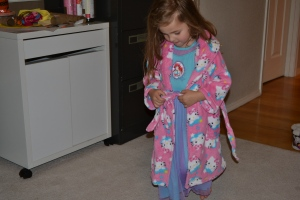 And my new robe keeps me snuggly in that time post bath, pre bed.