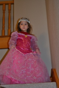 And so now I have a princess gown for every occasion.