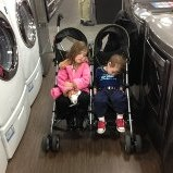 So after we left the show we went appliance shopping.  Rafa and I made it easy for Mum and Papi.