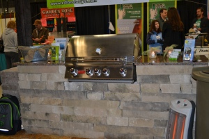 There were some great outdoor living companies there that are going to give us quotes for our kitchen.