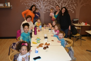 Mum picked us up early for another last.  Lunch at Munchkin play land with our Bethany Village Moms Group buddies.