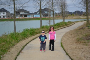 We wanted to spot an alligator, but we only saw birds whilst Mum and Papi checked out everyone's outdoor kitchens and patio furniture.
