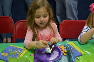 And the measure of a good birthday party, is always the cake.  5 out of 5 for sure.