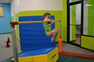 Yay!  I'm back in gymnastics classes!