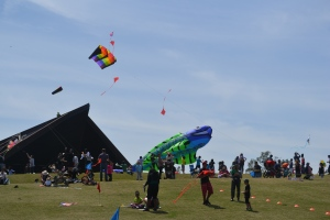 We also got to see some other pretty amazing kites.