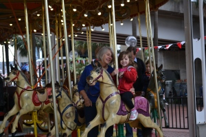 The carousel was definitely my favourite activity of everything we've done in Sydney.