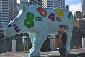 Darling Harbour was the hangout for this darling.