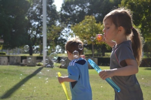 Bubbles!  (this was at Market park in Subiaco)