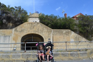 The original Fremantle jail, The Round House, was built in 1830 but wasn't big enough to house the migrating convicts who had to build their own prison in 1850 which became one of the British Empires most notorious prisons and is now visited by tourists.