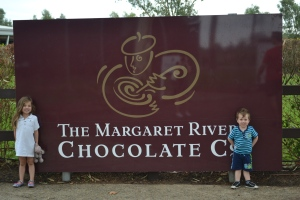 Stop one was The Margaret River chocolate factory.