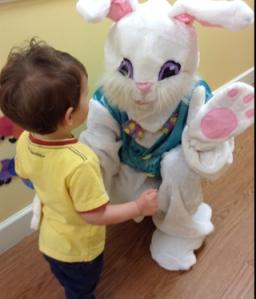 Easter Eggs Rafa with Bunny 2