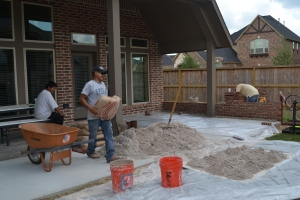 And the little bit of progress that was being made on the outdoor project….