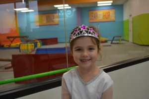 I was Elsa at gymnastics on Monday accept I kept tripping over my long dress... Mum had warned me!