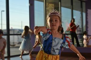 So I was Snow White at ballet tonight.