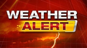 Now there's a flash flooding weather alert so we're not going to be going anywhere for the rest of the day!