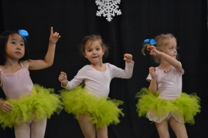 After months of practice our annual dance recital was this morning.