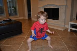 Schoooooo.  I'm BIG spiderman.