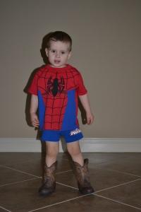 texan spiderman