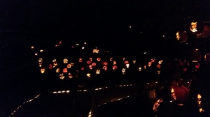 Full of amazing carved pumpkins!
