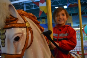 My next request was for a carousel ride.