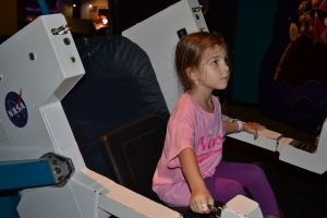 And docking our space ship into the International Space Station.