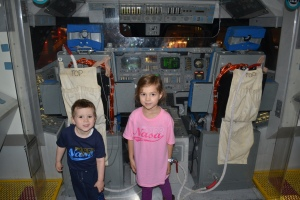 Today was our turn to check out the rockets and exhibits.