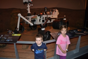 Checked out the Mars Rover.