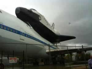 Mum, Papi, Grandpa John and Jennifer went to NASA before Christmas on a VIP tour.