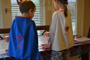 Birthday capes