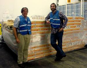 Finally…. the first EVER shipment of Australian mangoes into the USA.
