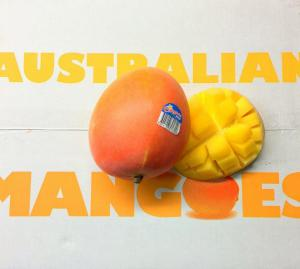 When Mum used to work for those fruit people in Australia, one of the projects she worked on was the trade protocol for Aussie mangoes to come to the USA.