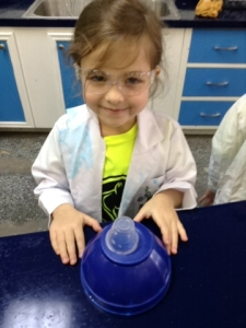 I was a scientist at Little Beakers today.