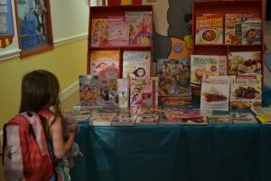 Yay for book fair week!