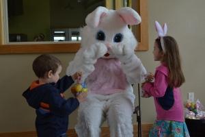 He gave us Easter treats.