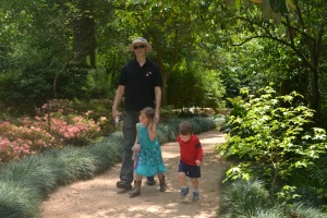 Today we went for a little stroll in the Bayou Bend Gardens
