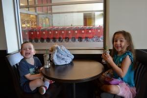 Saturday morning at Target.  Life is good!!