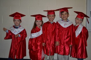 It was a big night for me and my classmates.  Here I am with some of my friends before the ceremony began.