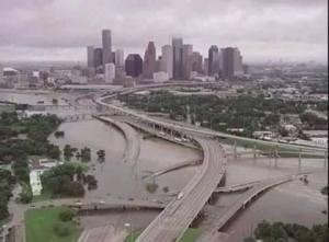 We had a bit of rain in Houston last night