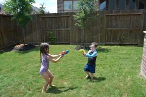 The summer battles have begun