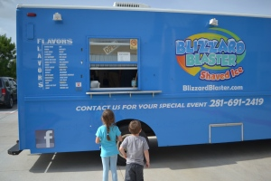 And visit the Blizzard truck