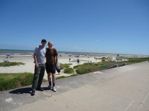 and the coast